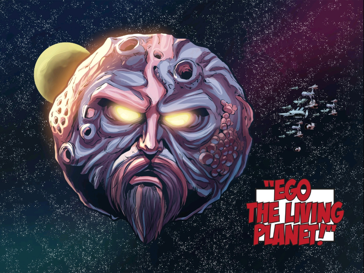"Our first look at Ego in ""Guardians of the Galaxy Vol. 2"""