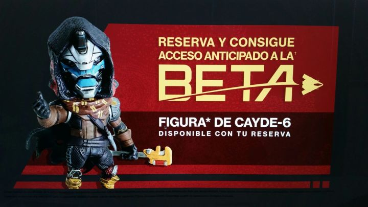Destiny 2 Preorder Bonus leak - Beta access and Cayde-6 figure