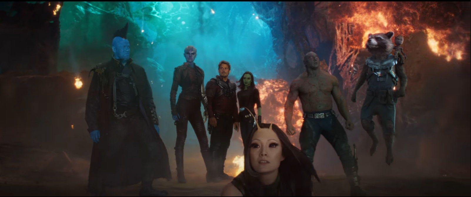 Guardians of the Galaxy Vol 2 - Full Team