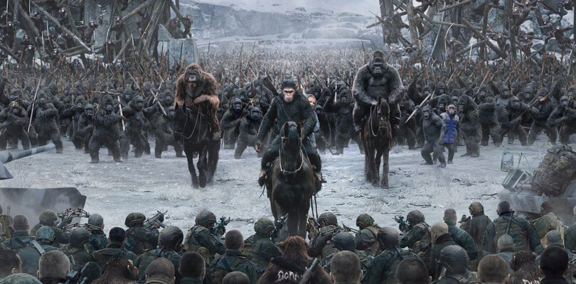 "All hell breaks loose in final ""War for the Planet of the Apes"" trailer"